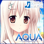AQUA -SORAHANE ソラハネ- 『AQUA-アクア-』はじめました。「命」と「絆」の近未来学園ヒューマンビジュアルノベル